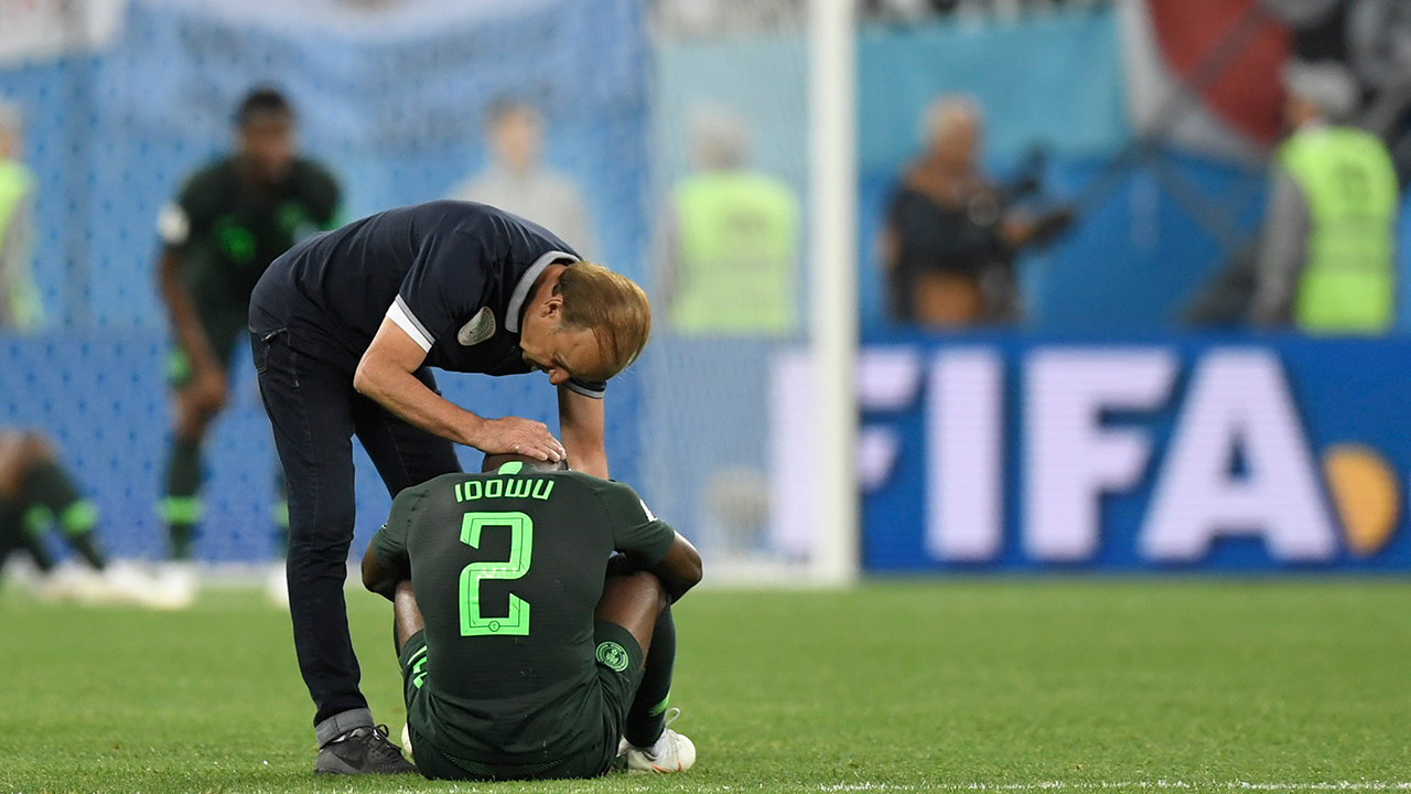 Nigerians in Russia weep openly as Eagles crash out