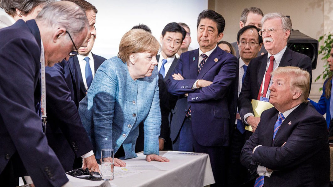 Trump turns nasty against allies at G-7