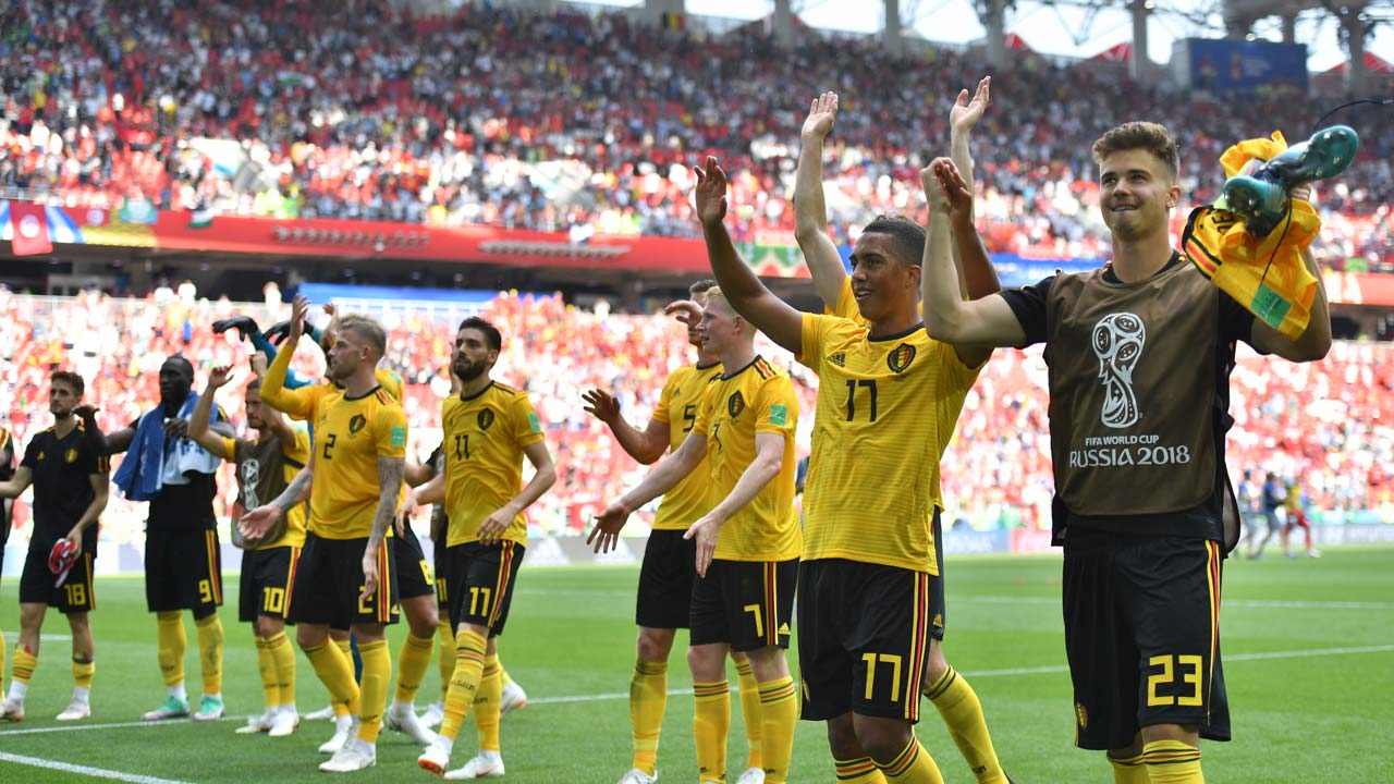SPORT: Lukaku, Hazard power Belgium to brink of World Cup last 16