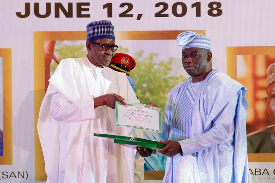 Image result for Abiola's family commends Buhari's recognition of June 12