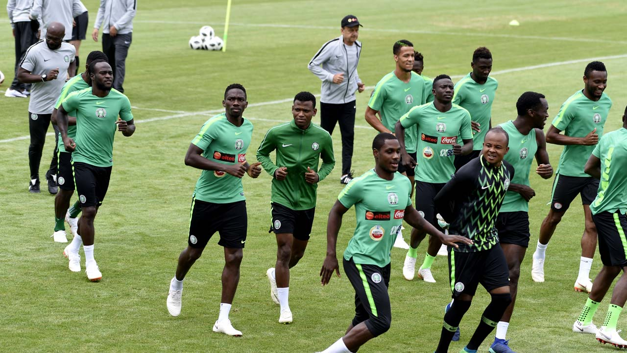 NFF pleads for continuous support as Eagles leave for Volgograd tomorrow