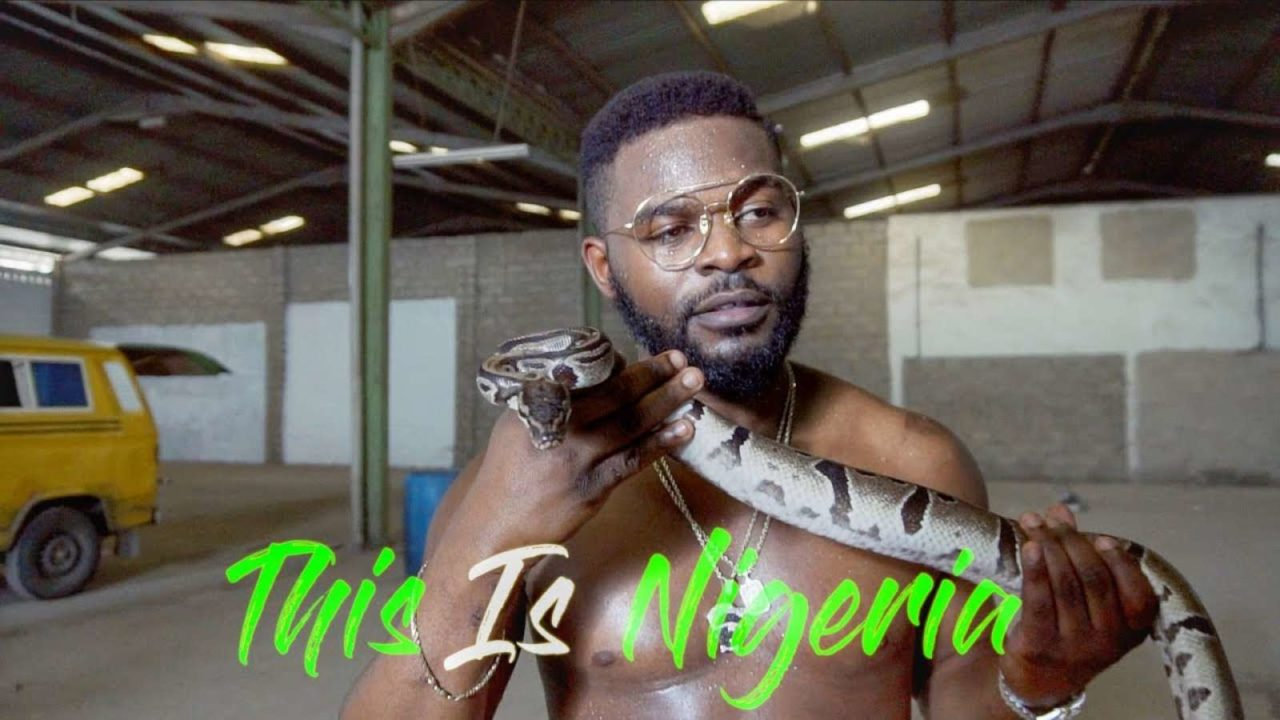 Image result for falz this is nigeria banned
