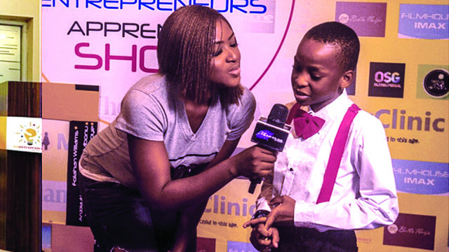Kid entrepreneurs premiere first kid reality TV show