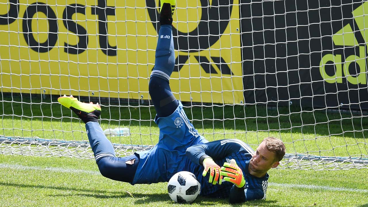 Germany 'keeper Neuer makes first start for eight months ...