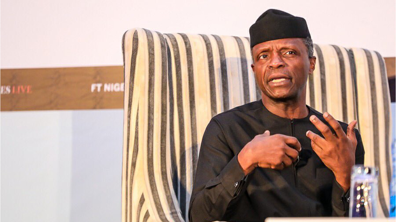 NEWS:Government still sceptical over AfCTA deal, says Osinbajo