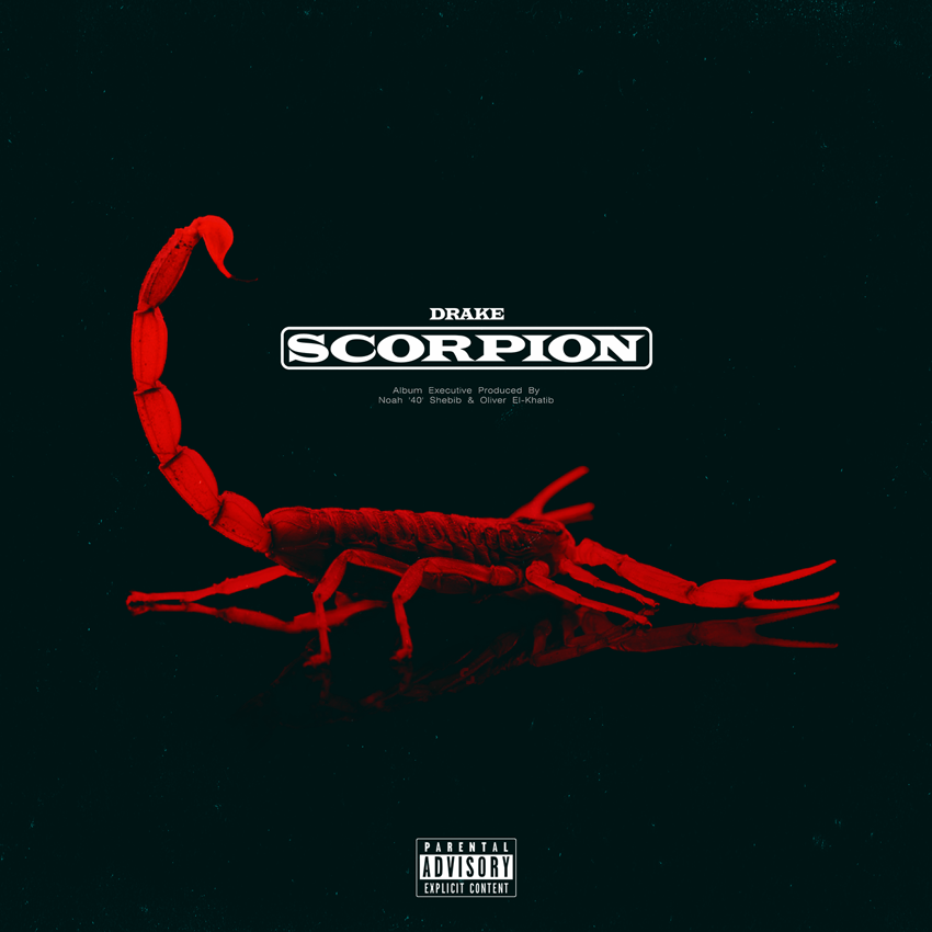 Scorpion Drake: Drake Releases New Album 'Scorpion'