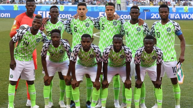 Nigeria drops in latest FIFA rankings