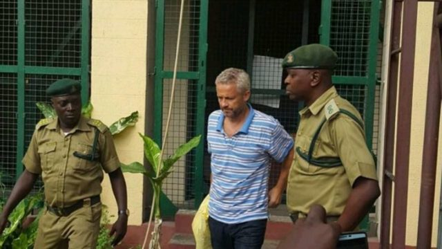 Peter Nielsen denies killing Alizee, daughter