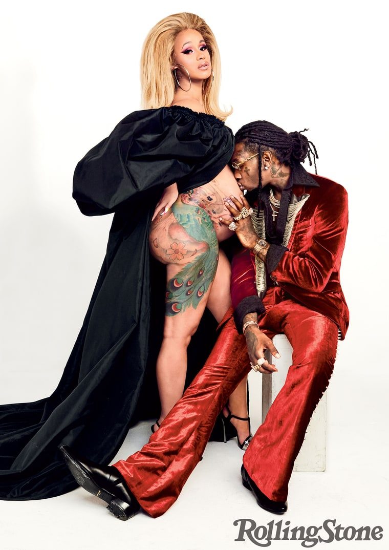Cardi B And Offset S Baby Name Meaning: Cardi B And Offset For Rolling Stone: A Hip-Hop Love Story