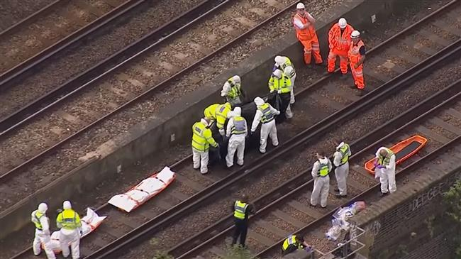 Three killed in London after being hit by train