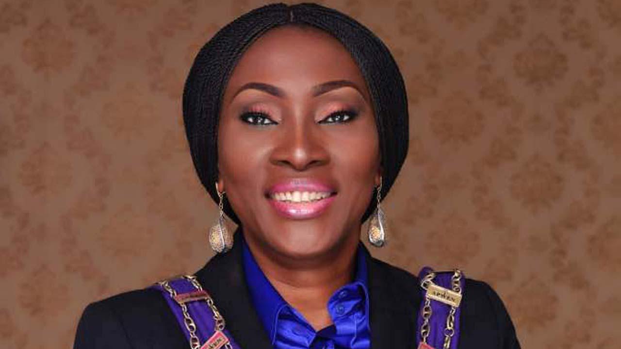 Engr. Felicia Agubata, President of APWEN. Photo: Guardian Nigeria