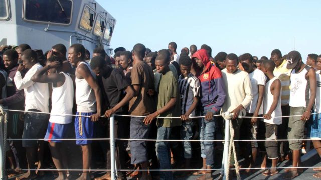 Nearly 700 migrants 'rescued' off Libya in two days