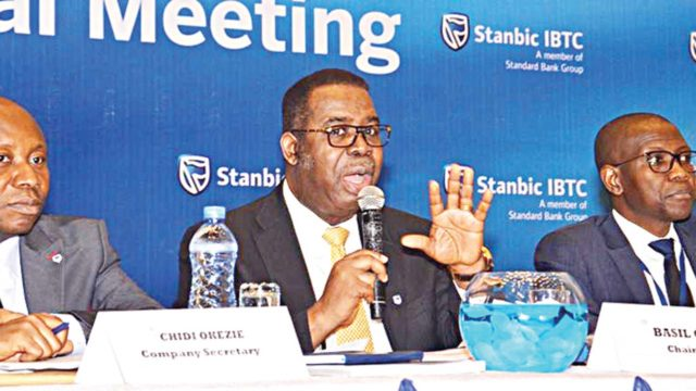 Shareholders endorse Stanbic IBTC's dividend payout