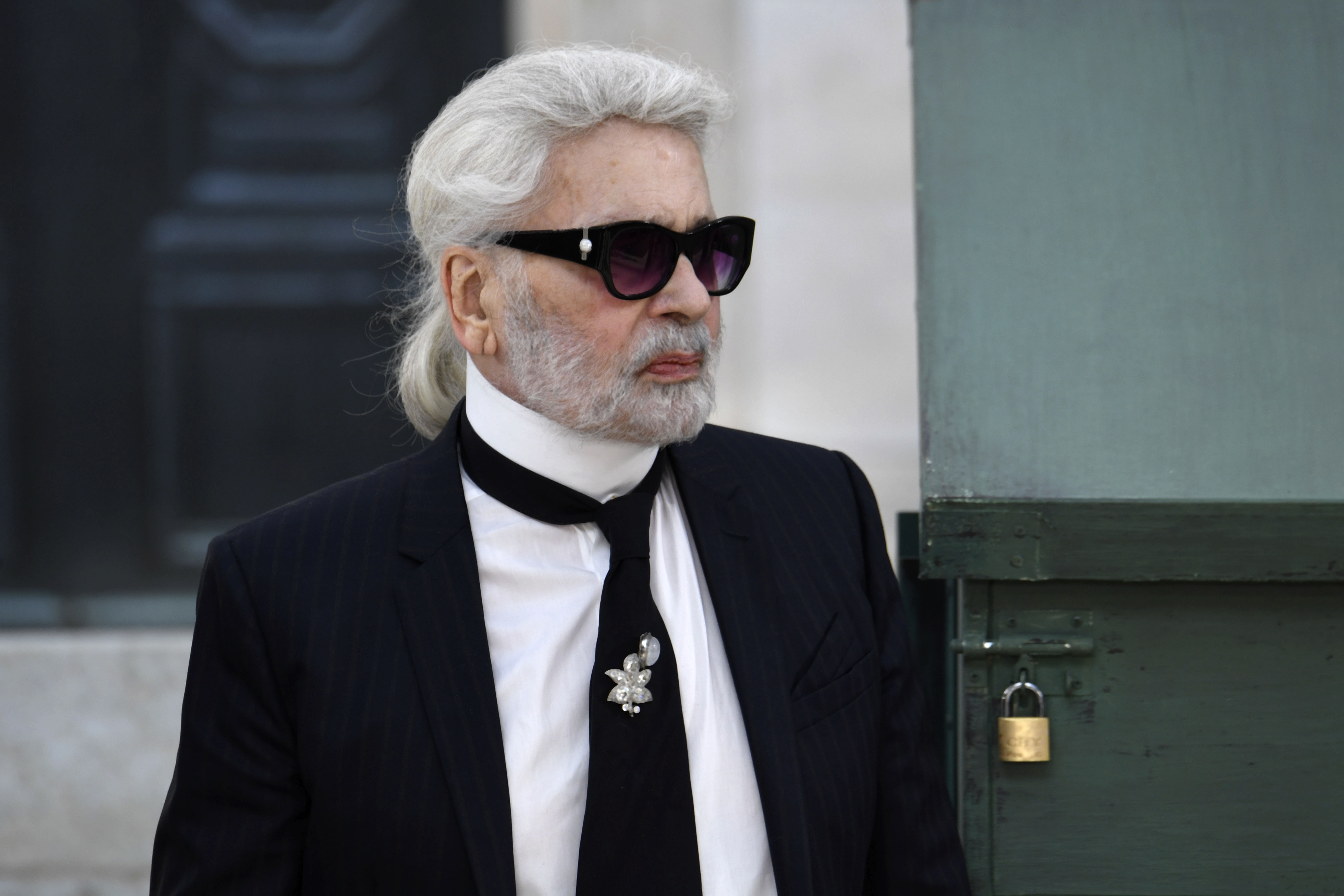 karl lagerfeld reaches for immortality with chanel paris show the guardian nigeria newspaper. Black Bedroom Furniture Sets. Home Design Ideas