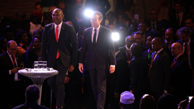 At TEF parley, Macron, re-echoes place of entrepreneurship in Africa's renaissance