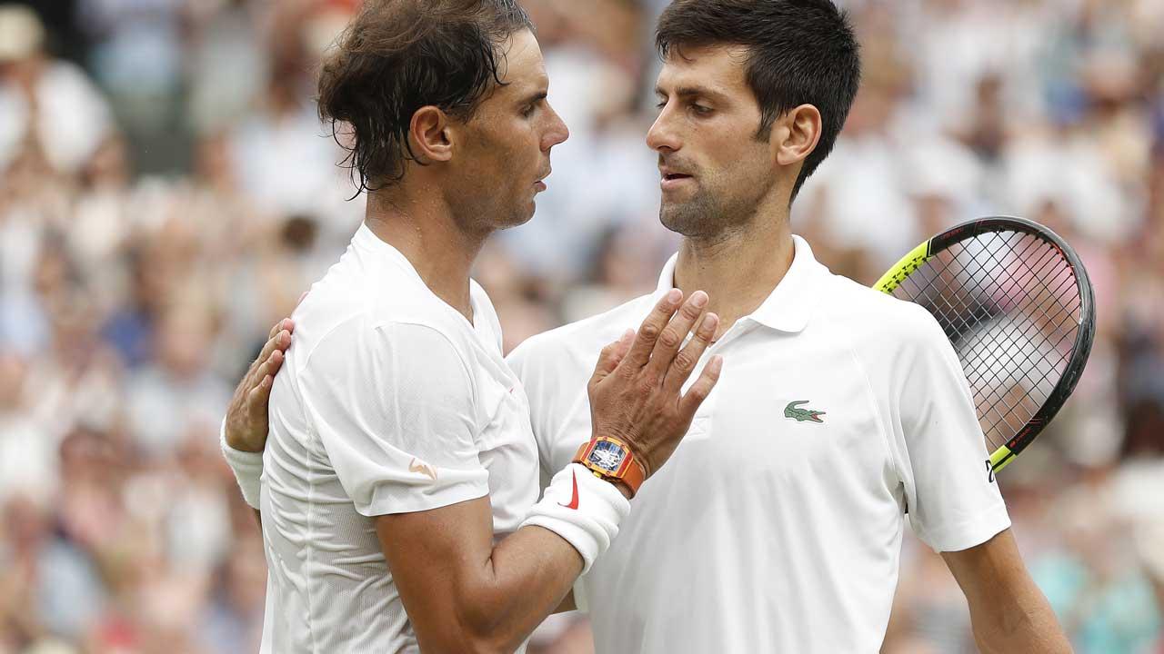 Novak Djokovic pips Rafael Nadal in second longest Wimbledon semi-final ever