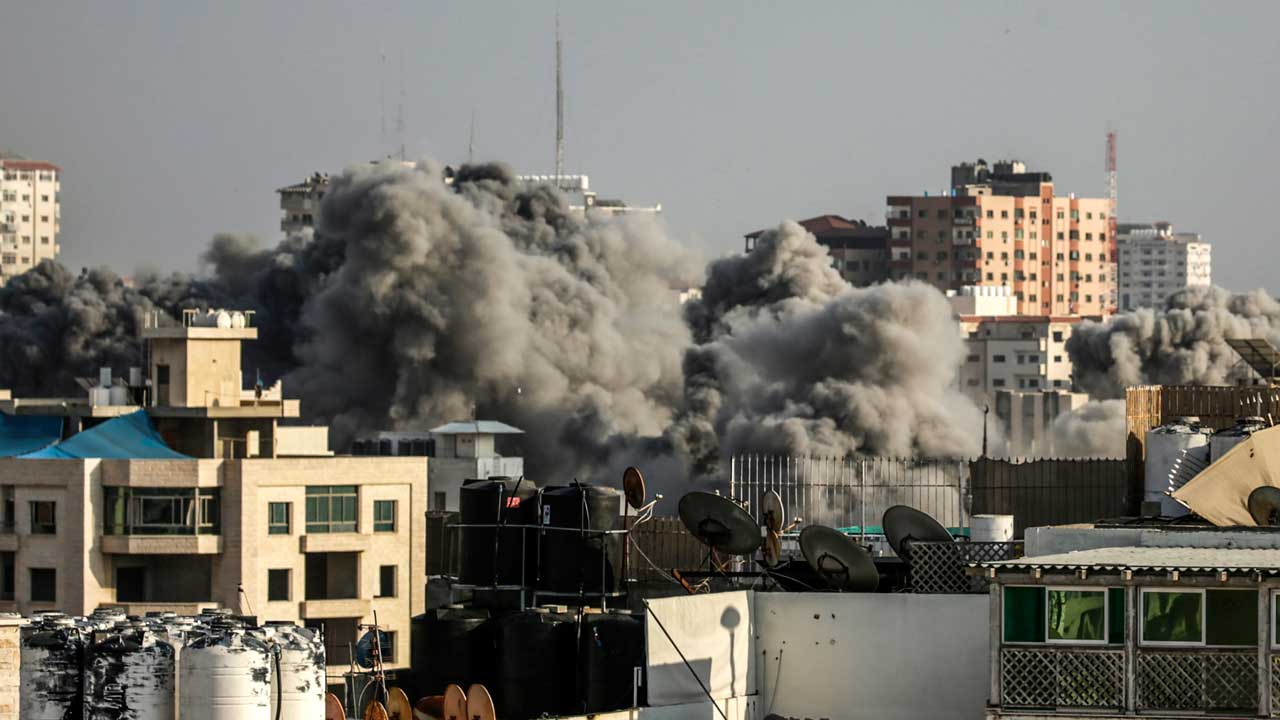 Gaza ceasefire holds after heavy Israel strikes, Hamas rocket fire