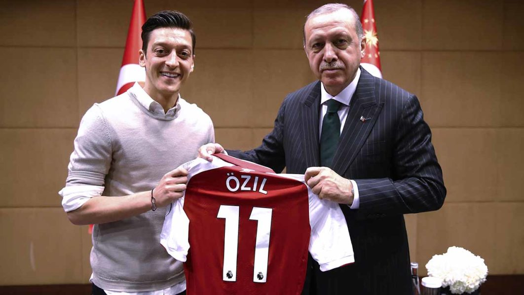 Mesut Ozil no longer wants to play for Germany