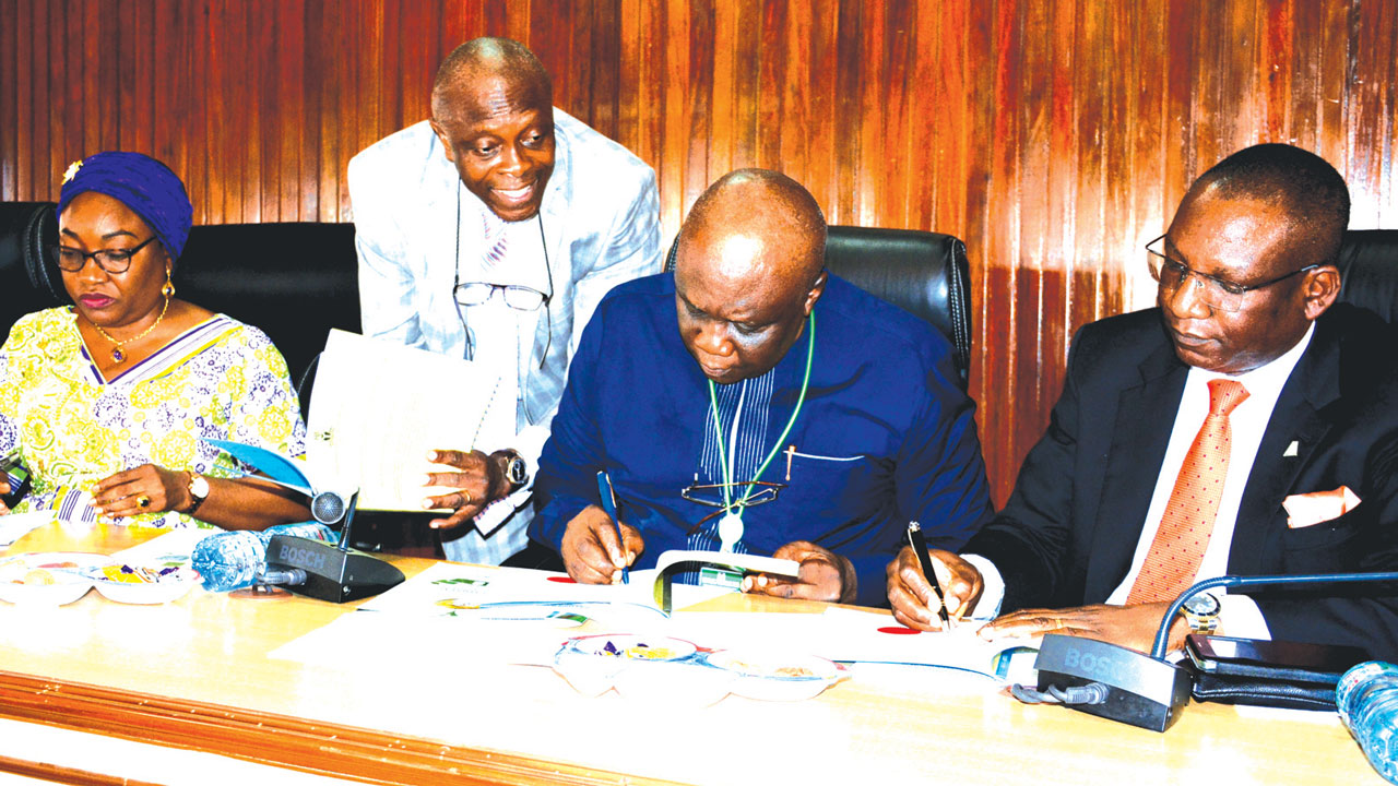 Government, Alpha Mead seal deal on remodeling of Abuja federal secretariat
