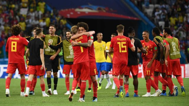 Belgium beat Brazil 2-1, will play France in World Cup semi-final
