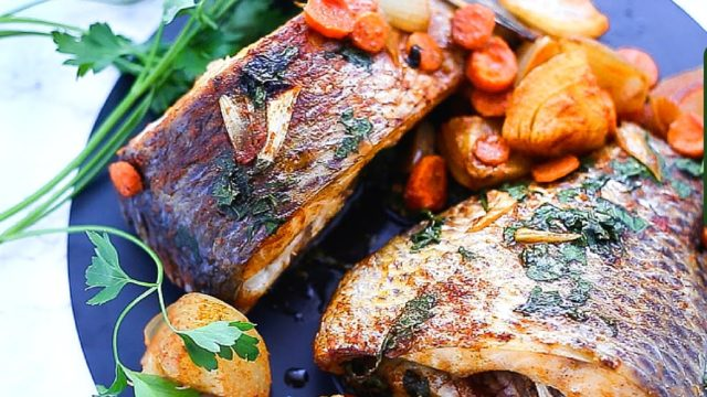 The Perfect Way To Make Grilled Croaker Fish
