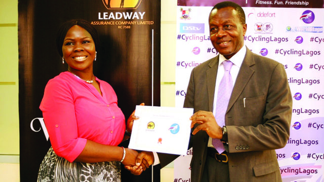 Leadway teams up with Cycling Lagos to provide cover for 1,000 cyclists