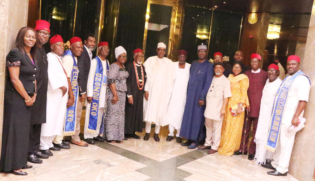 NEWS:Ekwueme's family thanks Buhari, seeks completion of mausoleum