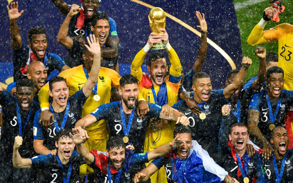 SPORT: France set for heroes' welcome after thrilling World Cup win