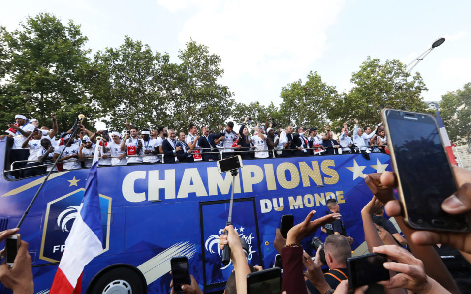 SPORT: French World Cup victors to get Legion of Honour