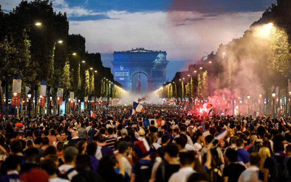 SPORT: Delirious French revel in World Cup victory