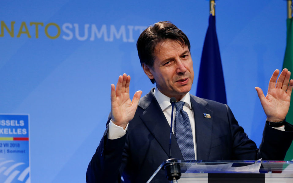 In Italy's Conte, Trump sees a like-minded European