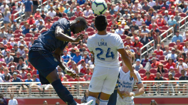Man Utd held to scoreless draw by Earthquakes