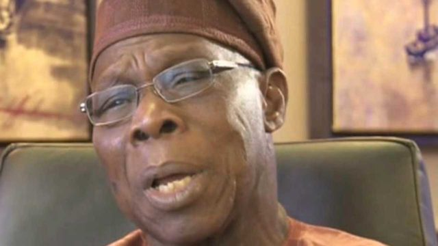 Obasanjo licks his vomit