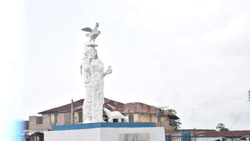 Oduduwa Statue. Photo credit Pulse Five Historic Interests In Osun State