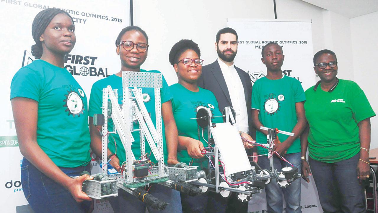 NEWS:Three Nigerian students for world adolescent robotics competition