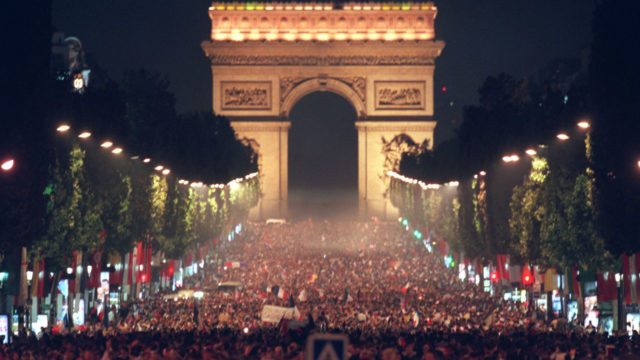 France reach World Cup final as Paris erupts