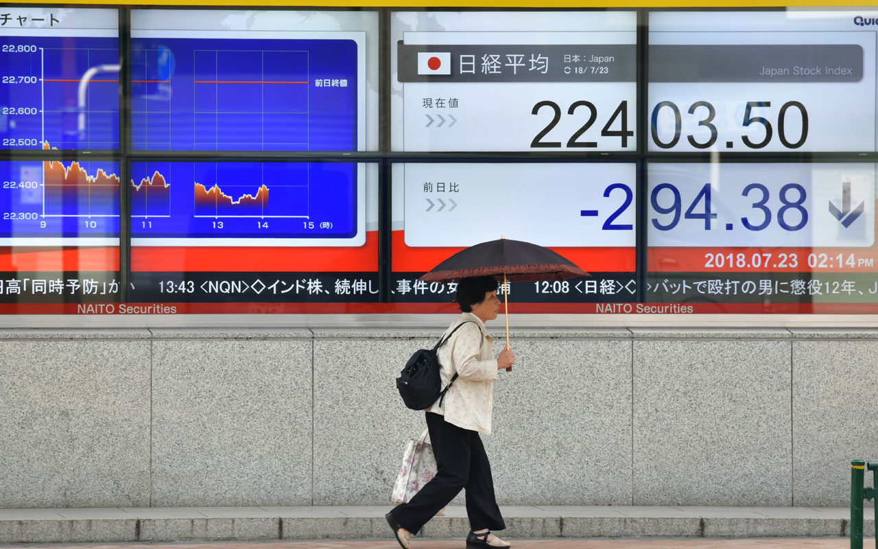 Tokyo shares open lower after falls on Wall Street | The Guardian Nigeria News - Nigeria and World News