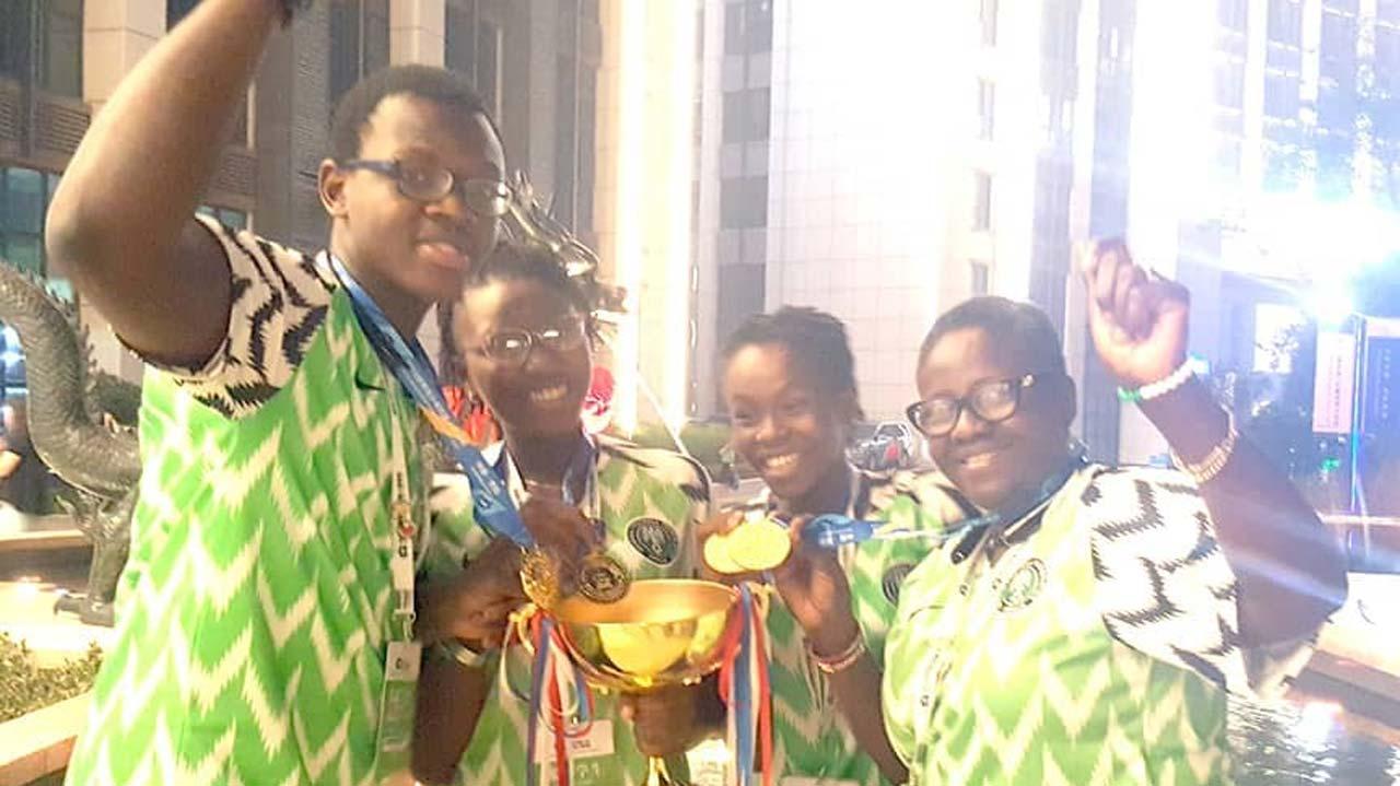 Nigerian students soar at World Adolescent Robotics