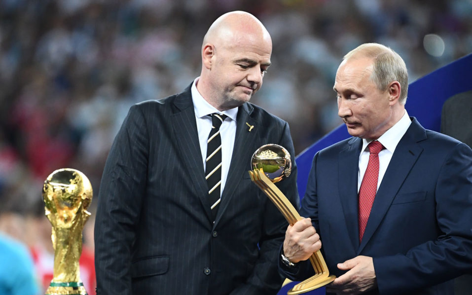 SPORT: 25 million cyber-attacks targeted at Russia during World Cup: Putin