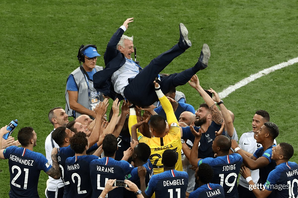 SPORT: 20 years after, France wins World Cup again in Moscow