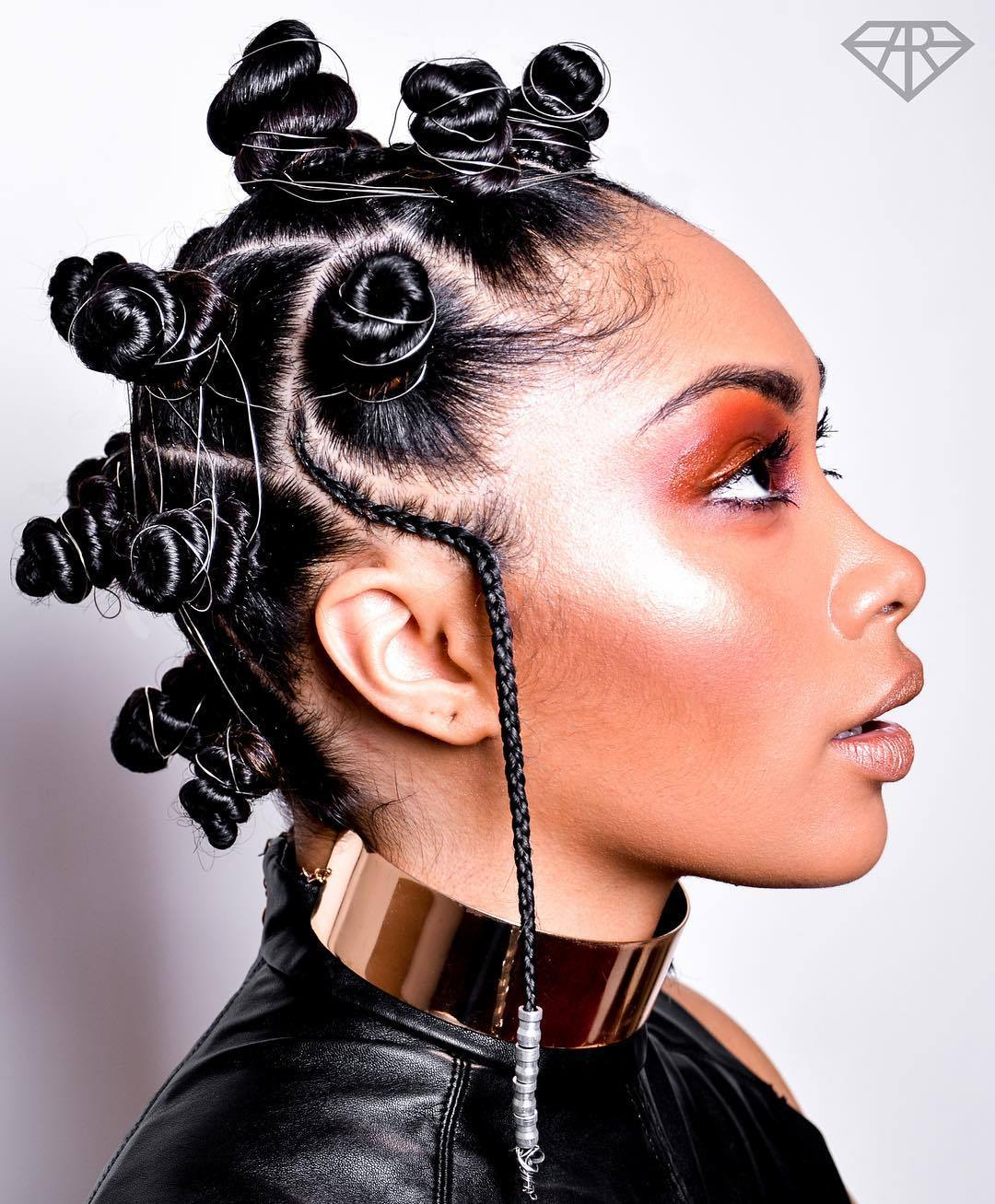 Easiest Way To Create Bantu Knots Guardian Life The