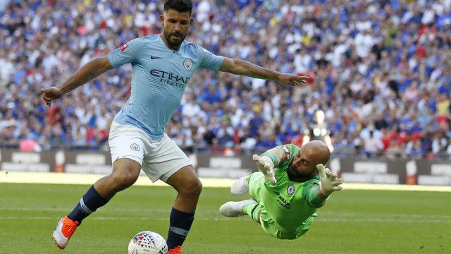 Sergio Agüero's brace gives Man City Community Shield win