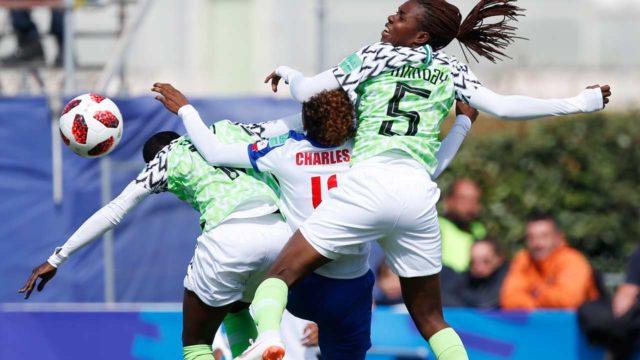 Nnadozie saves Falconets' blushes as Nigeria beats Haiti 1-0