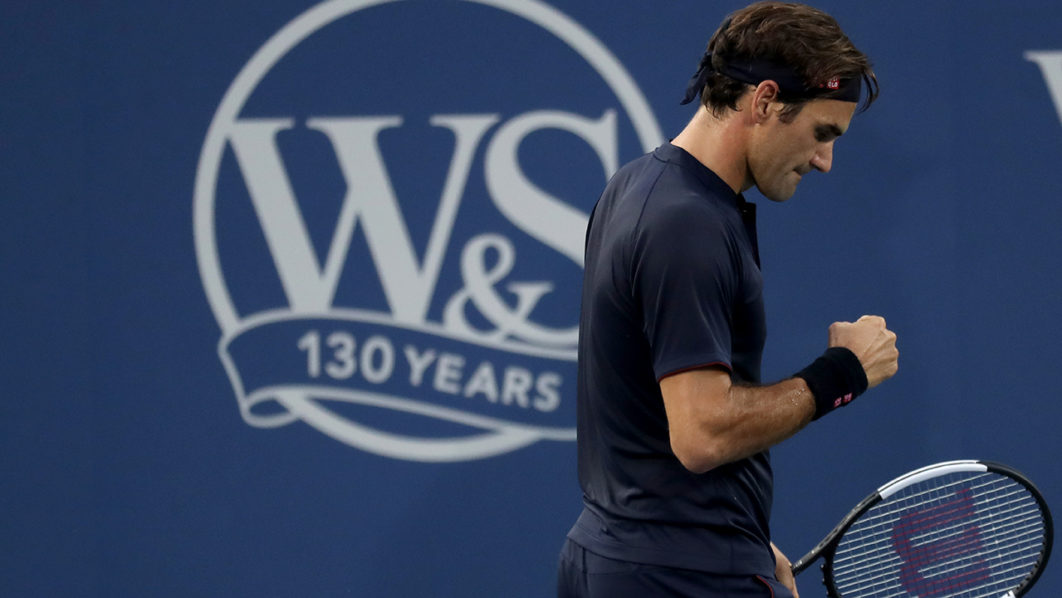 Federer To Clash With Djokovic In Cincy Tennis Final The Guardian