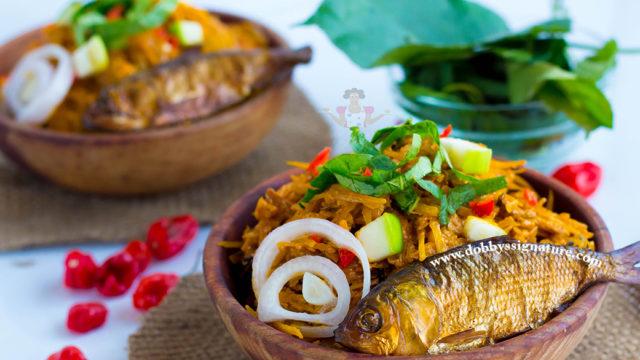 How to Make Abacha (African Salad)