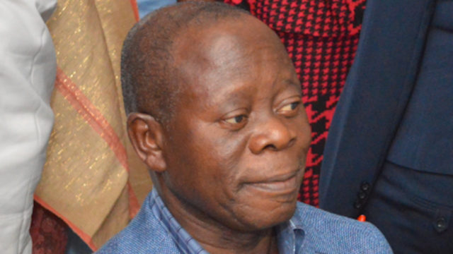 Oshiohmole dismisses reports on APC Governors' gang-up against him