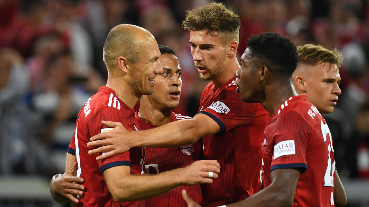 1baba3ff19f  Hunters  Bayern convinced they can catch leaders Dortmund as Bundesliga  returns
