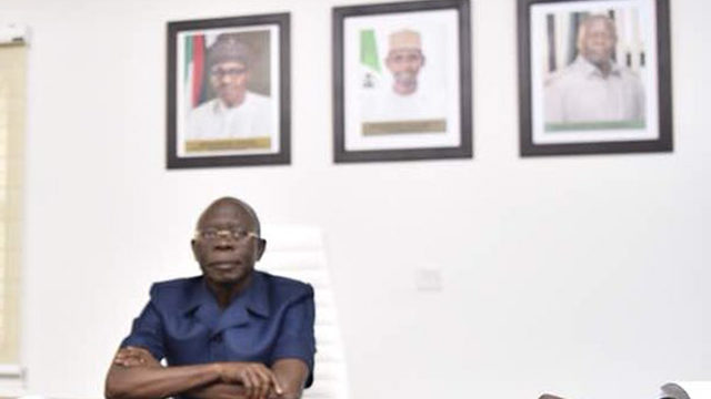 Oshiomhole hits back at 'state empires' in APC
