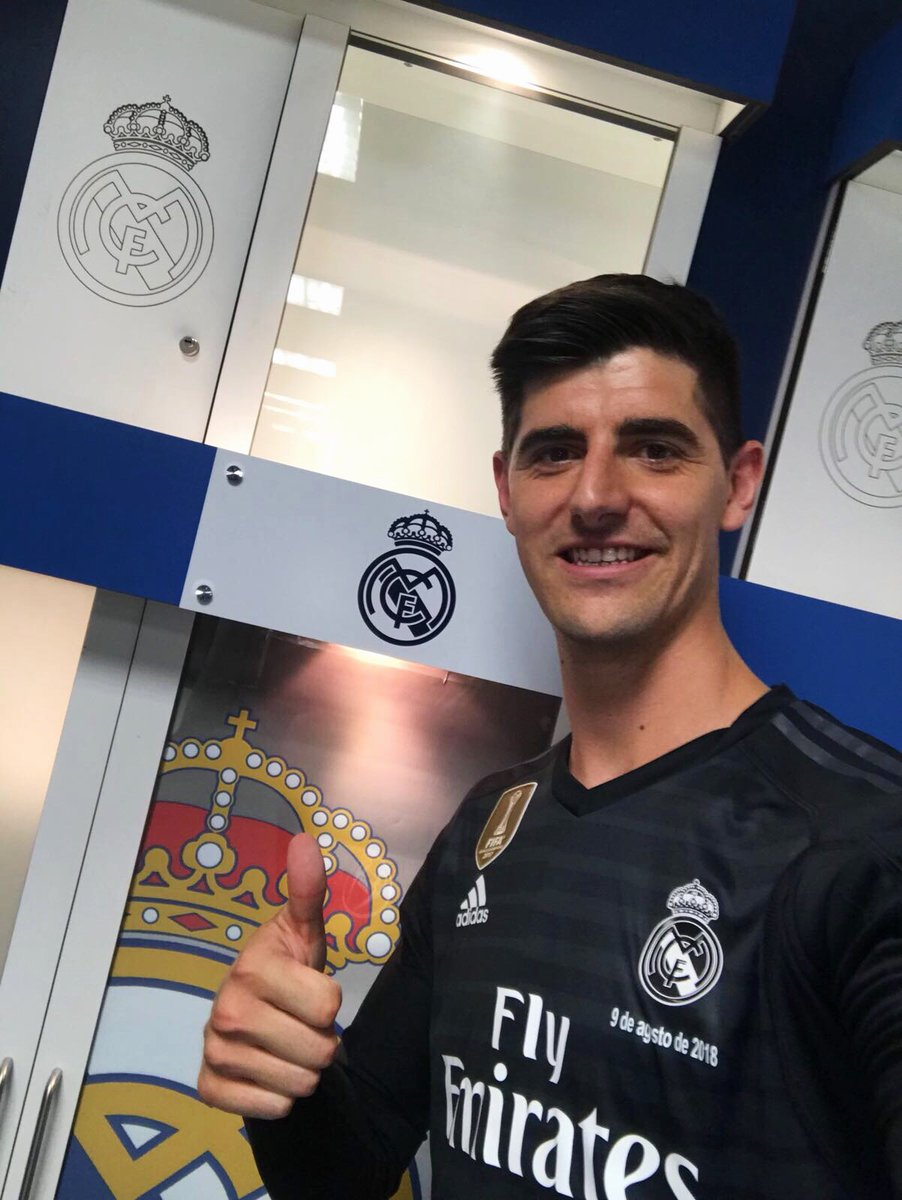 huge selection of fce39 5b616 Real Madrid complete Courtois signing | The Guardian Nigeria ...