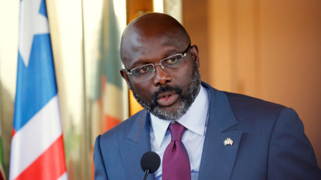 Liberia sinking under 'King George'